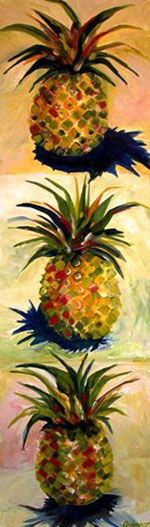 Pineapples in Trio